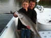 Large Striper on Lanier